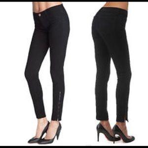 J Brand skinny zipper jeans, sz 27